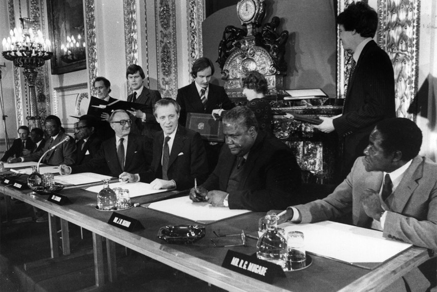 The Lancaster House Conference And Independence September 1979 To April 1980 Free Zimsec Cambridge Revision Notes Zimbabwe lancaster house agreement